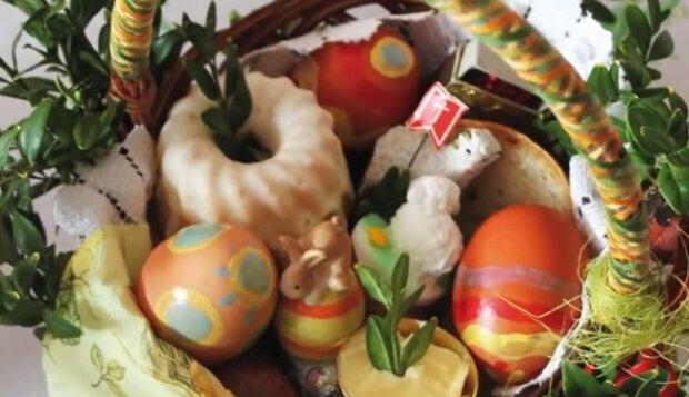 Wielkanocny koszyczek. Źródło: Youtube