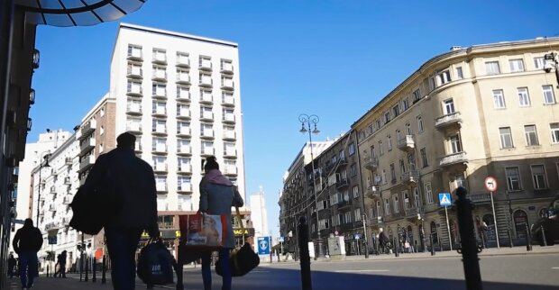 Plac Pięciu Rogów, Warszawa/ tvn24.pl