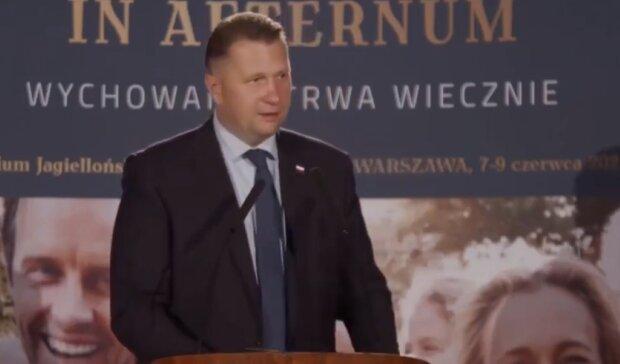 Przemysław Czarnek/ YouTube @Janusz Jaskółka
