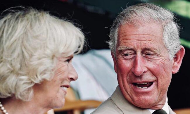 Księżna Camilla, książę Karol/ screen yt