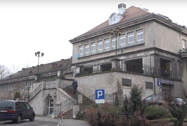 Kraków: jeden ze szpitali zamontował przy wejściu specjalne urządzenie. Wiadomo o co w tym chodzi