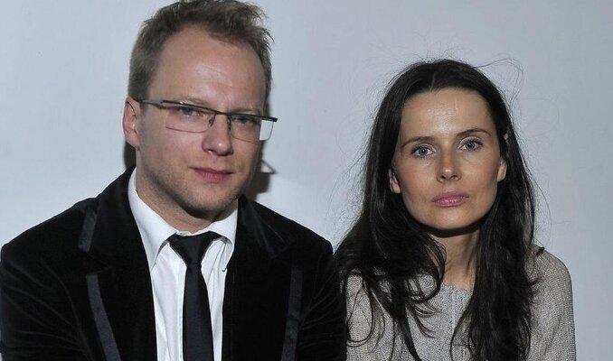 Maciej Stuhr z żoną. Źródło: dziennik.pl