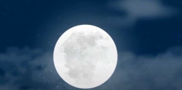 Niebieski księżyc fot. YouTube