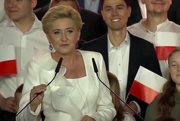 Agata Duda / YouTube:  Onet News