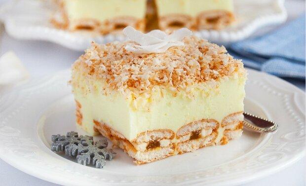 Bajecznie proste ciasto bez pieczenia, które oczaruje gości. Robi się niemal samo