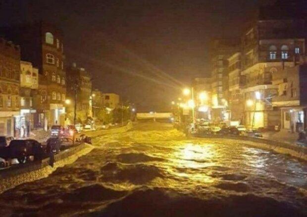 Powódź w Jemenie/screen Twitter @@alasaadim