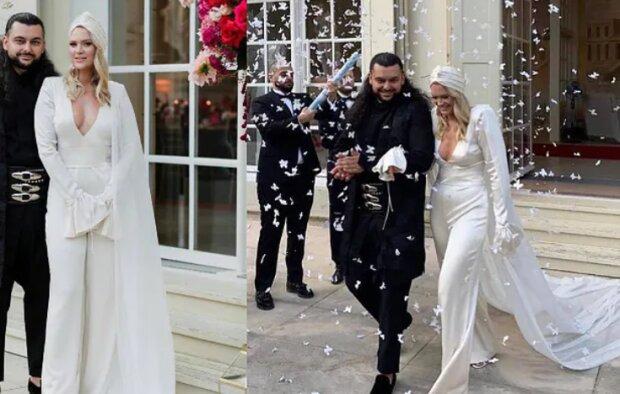 Suknie ślubne celebrytek nie zawsze są tradycyjne. Niektóre gwiazdy postawiły na bardzo oryginalne kreacje