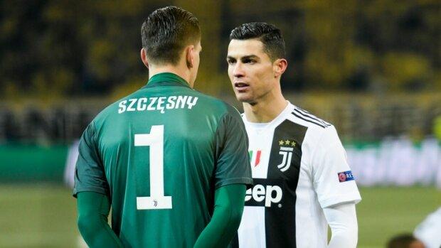 Piłkarze Juventusu i on – mistrz drugiego planu, wesoły bramkarz Wojciech Szczęsny!