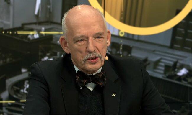 Janusz Korwin-Mikke/YouTube @Janusz Jaskółka