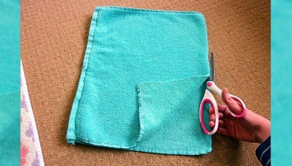 Wykorzystaj stare ręczniki. Źródło: podaj.to