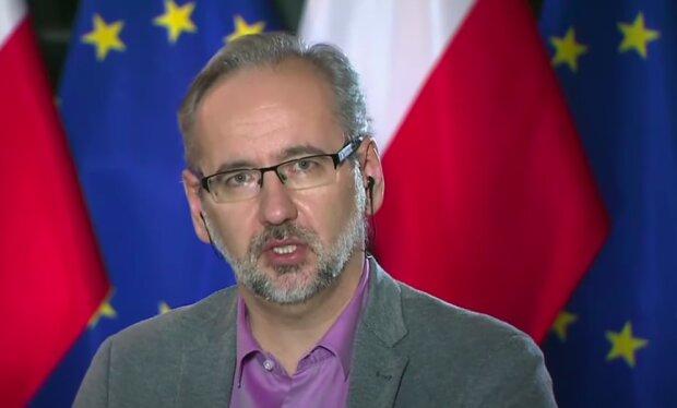 Minister zdrowia Adam Niedzielski / YouTube: Janusz Jaskółka