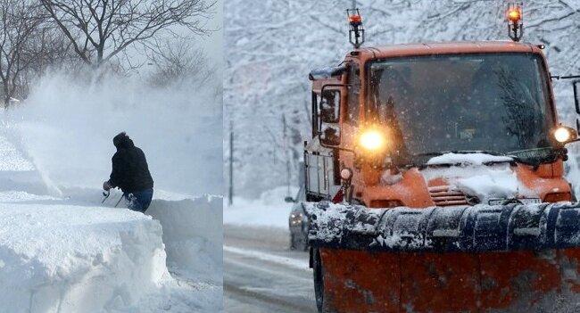 Zima nadeszła z niebywałą mocą! W zaledwie 48 godzin pojawiły się dwa metry śniegu