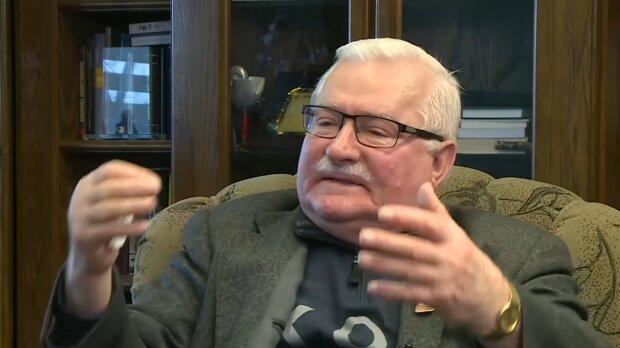 Lech Wałęsa/ YouTube @Onet News