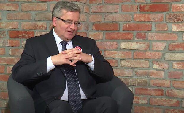 Bronisław Komorowski / YouTube: naTemat.pl