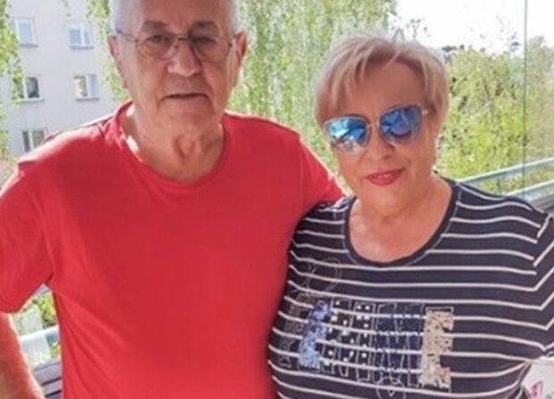 """Władysław z """"Sanatrium miłości"""" z partnerką. Źródło: telemagazyn.pl"""