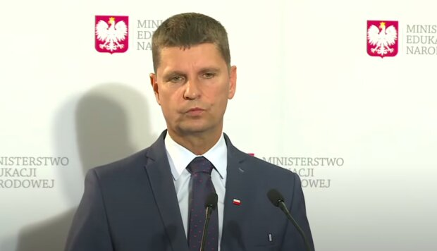 Minister edukacji - Dariusz Piontkowski / YouTube