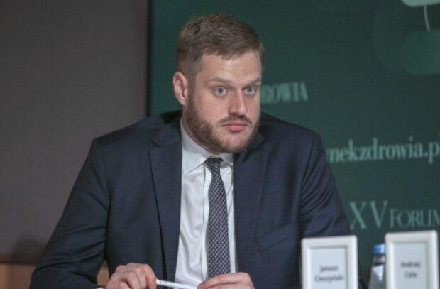 Janusz Cieszyński wiceminister zdrowiafot. infodent24