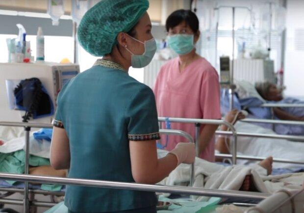 szpital i personel medyczny
