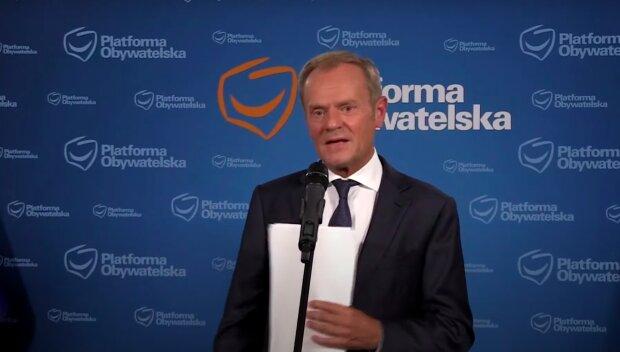 Donald Tusk / YouTube:  Onet News