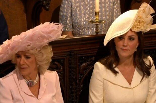 Camilla i Kate. Źródło: Youtube