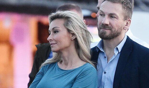Martyna Wojciechowska i Przemek Kossakowski. Źródło: party.pl