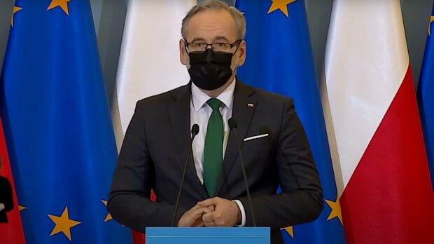 Minister zdrowia Adam Niedzielski / YouTube: