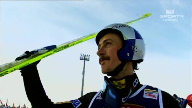 Adam Małysz. Źródło: Youtube TVP Sport