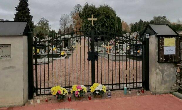 Cmentarz/screen Youtube @Portal Ziemi Chrzanowskiej