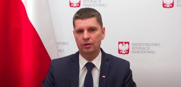 Dariusz Piontkowski / YouTube:  Ministerstwo Edukacji Narodowej