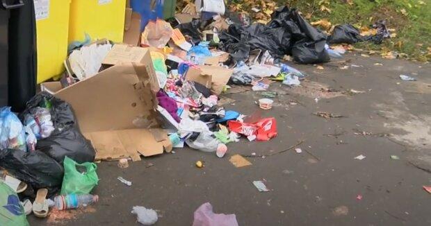 Śmieci, kosze na śmieci/YouTube