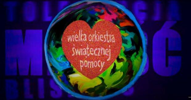 Finał Wielkiej Orkiestry Świątecznej Pomocy.  YouTube @ KręciołaTV