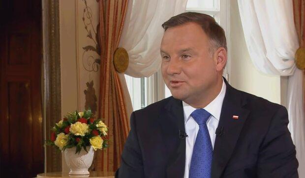 Andrzej Duda/ YouTube @Polsat News