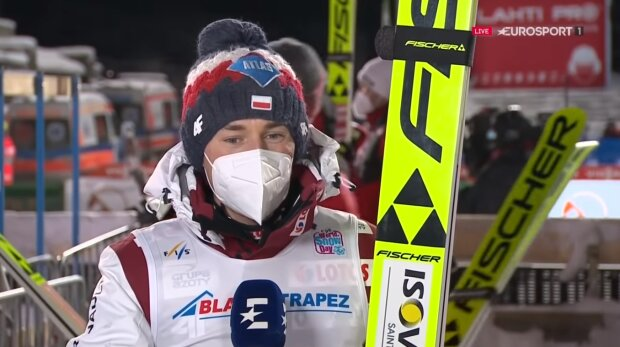 Kamil Stoch. Źródło: Youtube Eurosport Polska