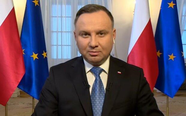 Andrzej Duda/screen YouTube @Polsat News