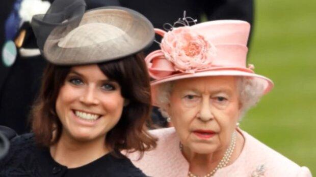 Księżniczka Eugenia i królowa Elżbieta. Źródło: Youtube