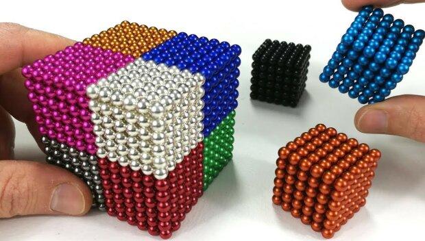 Kulki magnetyczne/screen Youtube @Magnetic Games