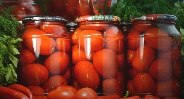 przepis na kiszone słodkie pomidory, screen Google