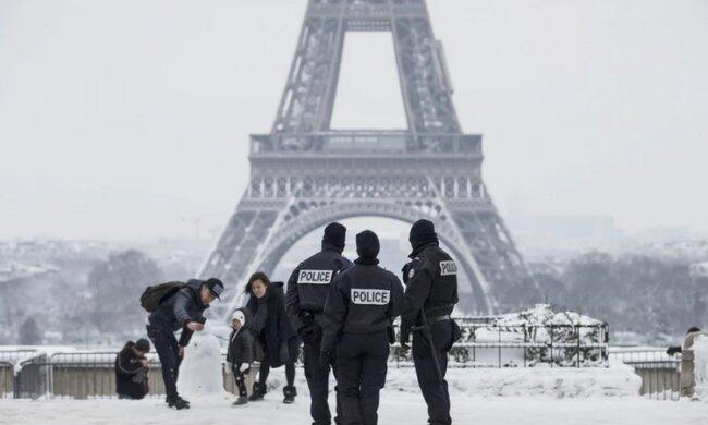 Ekstremalna sytuacja w Paryżu, miasto dosłownie zamarzło. Rosyjski niż może zagrozić Europie