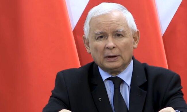 Jarosław Kaczyński / YouTube: TVP Info