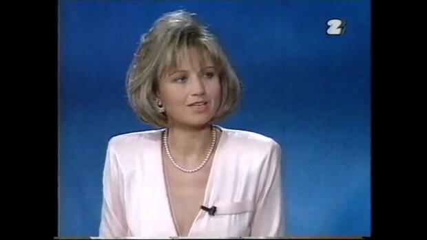 Iwona Kubicz. Źródło: Youtube Dawno Temu W TV