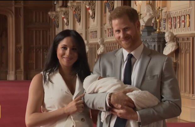 Meghan Markle, książę Harry i Archie/YouTube @ Entertainment Tonight