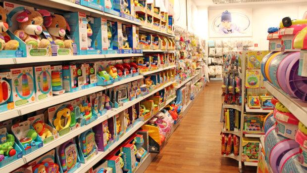 Kradzież w sklepie z zabawkami