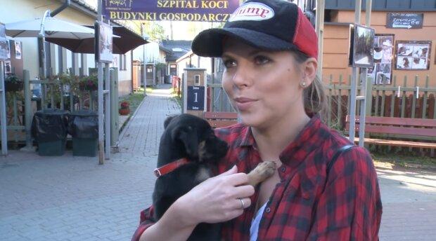Aleksandra Kwaśniewska. Źródło: Youtube Kozaczek
