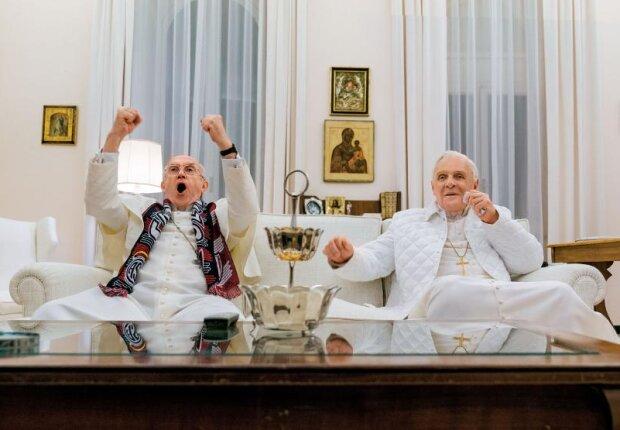"""""""Dwóch papieży"""" to film, który skradł serca widzów. O czym opowiada kandydat do Oscara"""