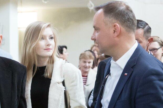 Kinga Duda, Andrzej Duda / YT