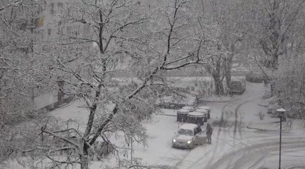Zima, śnieg. Źródło: Youtube Elżbieta Subocz