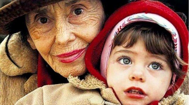 W wieku 67 lat została matką,screen