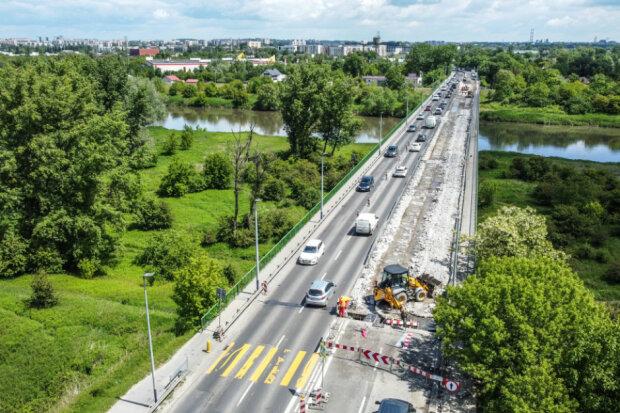 Kraków: jeden z mostów zostanie zamknięty na weekend. Kierowcy muszą przyszykować się na utrudnienia