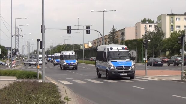 Policja. Źródło: Youtube Poznan Na Sygnale
