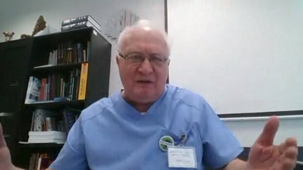 Prof. Krzysztof Simon. Źródło: Youtube MedExpress TV
